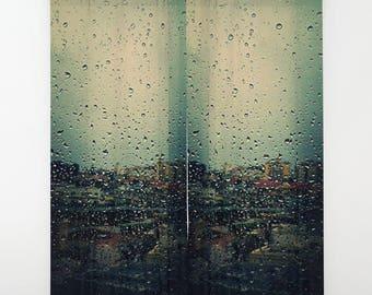Rain Window Curtains, Window Curtains, Curtain Panels, Home Decor, Rain Window Treatments, Window Curtain Panels