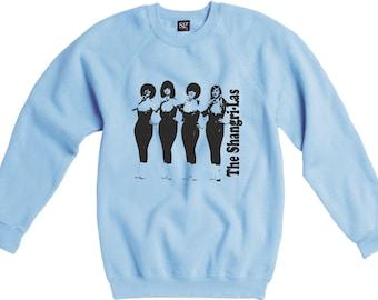 The Shangri-Las Sweatshirt - 1960's Girl Band Icons, Various Colours