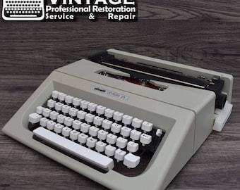 New & Unused Olivetti Lettera 25 typewriter Working Black Red Ribbon