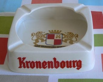 Kronenbourg Ashtray from the 1970's.
