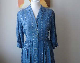 Original 1950's  St. Michaels Day Dress