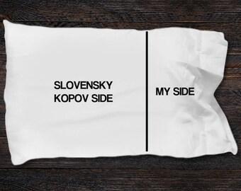 Slovensky Kopov Pillow case - Slovensky Kopov gifts - Slovensky kopov Side- My Side