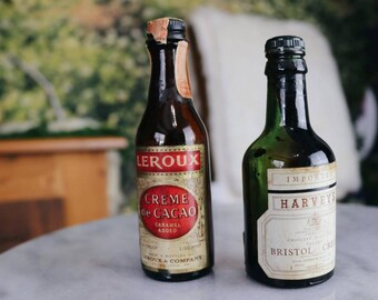 Vintage Alcohol Bottles