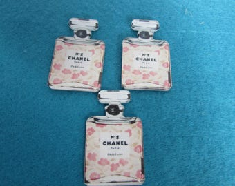 Chanel No 5 Perfume Bottle Flatback