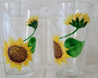 Sunflowers - Tumblers