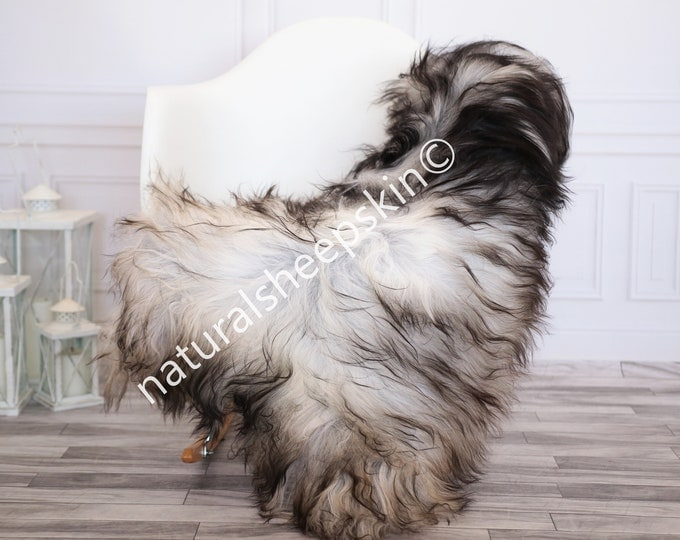 Icelandic Sheepskin | Real Sheepskin Rug | Gray Sheepskin Rug | Fur Rug | Homedecor #febisl9