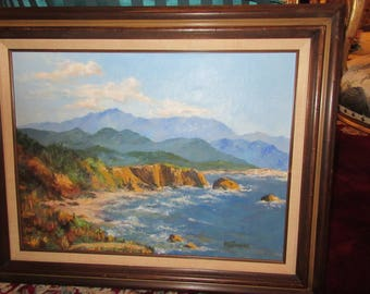 ORIGINAL OIL PAINTING Signed M. B. Pengilly