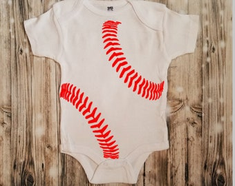 Baby Baseball Bodysuit - Baby Shower Gift - Baseball Lover Outfit - Baby Bodysuit - Unisex Baby Clothing - Biggest Baseball Fan