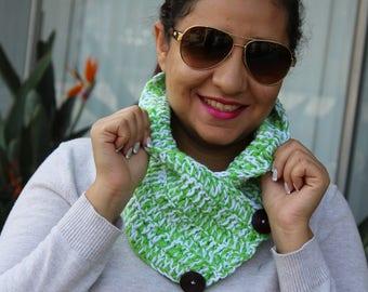 Crochet Chunky Fashion Neckwarmer