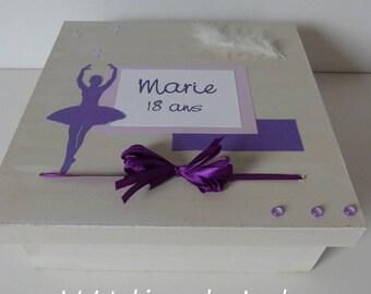 Box keepsake dancer