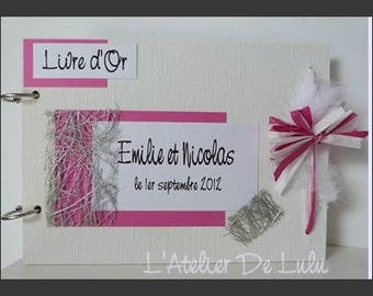 Emilie and Nicholas Wedding guest book