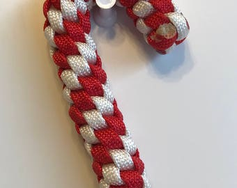 Paracord Candy Cane Ornament