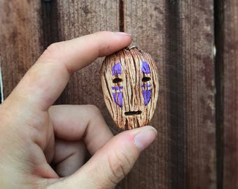 Mini No Face Mask Pendant