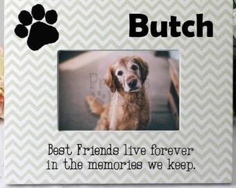 Personalised Pet Memorial Frame - Dog