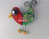 Broche bird