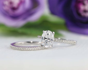Oval engagement ring Etsy