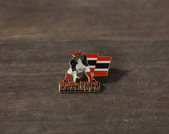 RARE Vintage 90s New England Patriots Lapel Pin