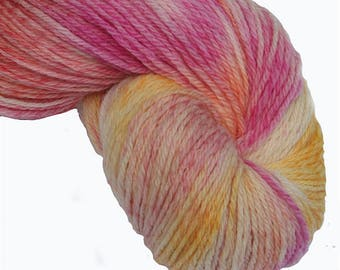 Tropical Sundae Hand Dyed 4ply Yarn