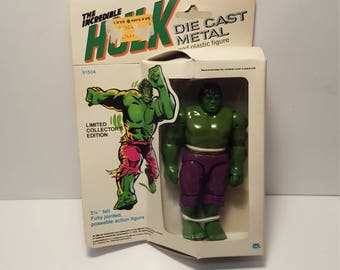 1979 Hulk Diecast Action Figure