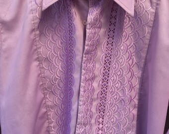Men's vintage dress shirt (UKM)