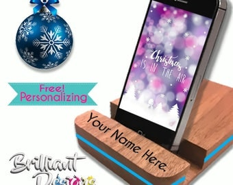 Personalized Gift, Wooden Docking Station, iPhone Dock, Charging Station, iPhone Charger, iPhone Docking Station, Tech gift, Christmas Gift