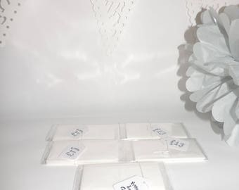 Happy Tears Only - White - Wedding Day Tissues