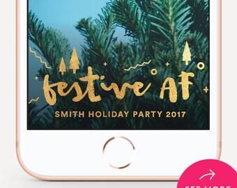 Christmas Snapchat Filter Christmas Snapchat Geofilter Christmas Snapchat Christmas  Filter Christmas Snap Chat Festive AF