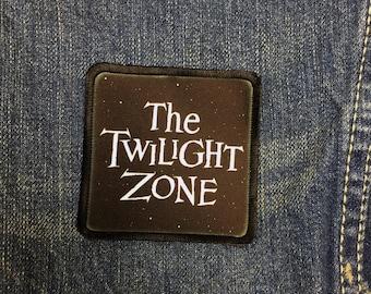 The Twilight Zone Patch Sci-Fi Patch Science Fiction Patch Horror Patch Iron On Patch Jean Jacket Patch