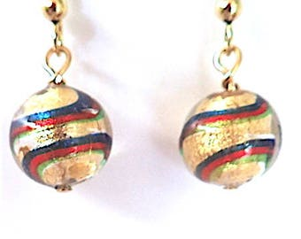 Genuine Murano Glass Earrings