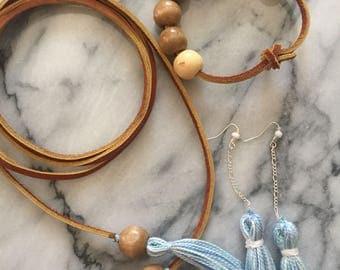 Tassel Jewelry Lola Set boho handmade