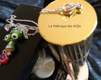 Unique necklace Monster fun and Original gift