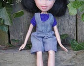 Tree Change Dolls® Doll #542 OOAK, repainted, restyled, second-hand doll, by artist Sonia Singh