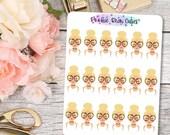 Babe- Choker Stickers