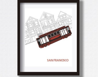 SF Cable Car Poster