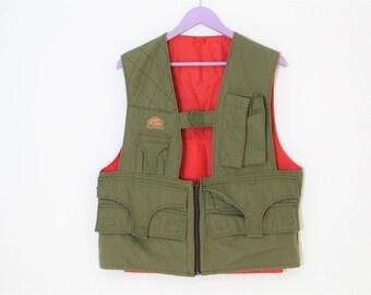 Quality multi-pocket Hunter Vest Brand DEXTER Green Shooting Vest Gardener Country Comfortable Fisherman Waistcoat Size  Medium