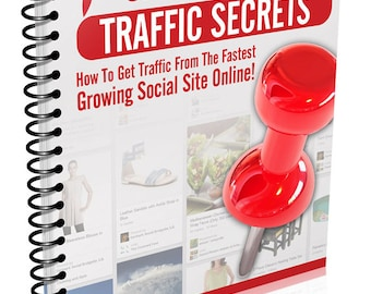 eBook -- Pinterest Traffic Secrets