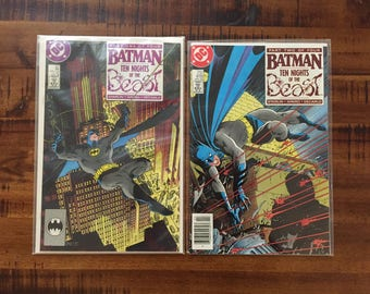 1988 Batman #417 and #418,Ten Nights of the Beast Comic Books/1st KG Beast/ Nm-Vf/Choose One or Both for a Discounted Price!!!