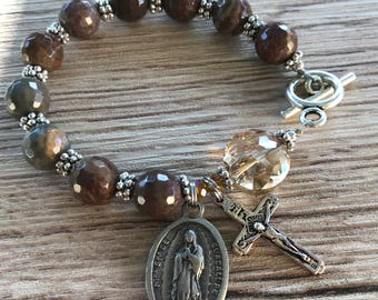 Rosary Bracelet Lady Of Guadalupe