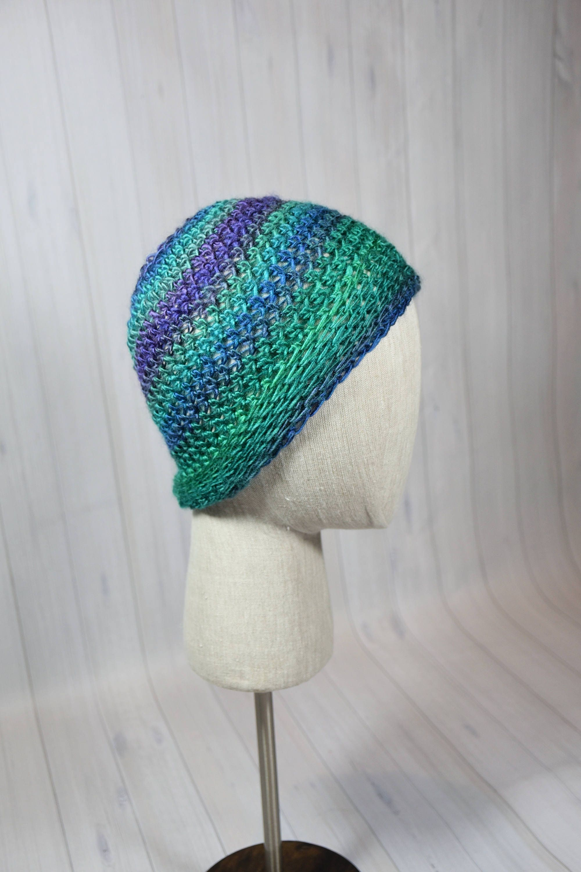 b1d2ebed7288a Crochet Dragonfly Messy Bun Ponytail Hat  Accessory  Winter wear  Birthday  Gift