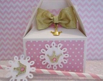 Princess Favor Boxes, Favor Boxes, Princess Party Favors, Party Favors, Princess Favors, Girls Birthday Favor Boxes, Birthday Favor Boxes