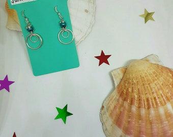 Earrings rings and pearls
