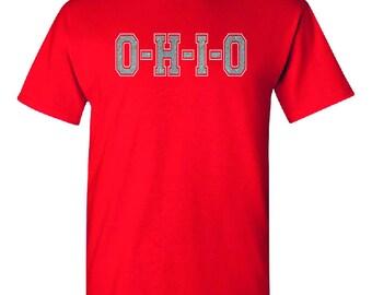 Ohio Block glitter t shirt, shirt.