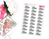 Wow I Actually Showered Script Planner Stickers for the Erin Condren Life Planner, Script Sticker, Sarcastic Planner Sticker - [P0599]