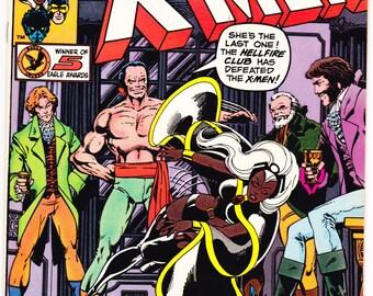 Uncanny Xmen 132 comic, Wolverine, Cyclops, Hellfire Club, X-men, Nightcrawler, Charles Xavier, book. 1980 Marvel Comics in NM- (9.2)