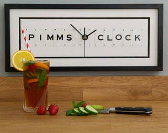 Pimms O Clock Frame Clock by Vintage Playing Cards FREE UK SHIPPING!