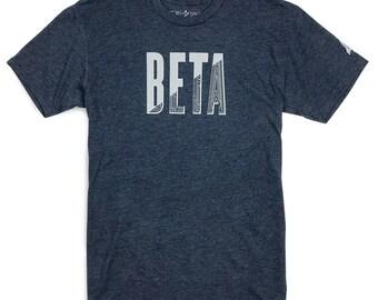 Mens Graphic Tee, Technology shirt, IN BETA T-shirt, Tech Guy, Gifts for Guys, Programmer shirt, Tech shirt, climber gift