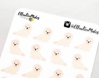 Shih Tzu Dog Decorative Stickers