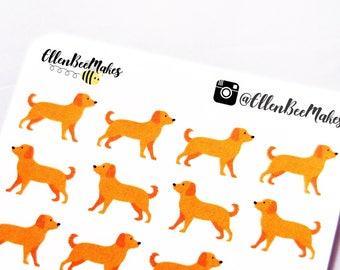 Golden Retriever / Labrador Decorative Stickers