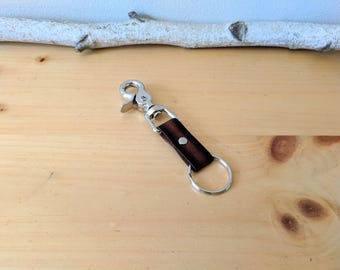 Trigger Snap Keychain, Two Toned
