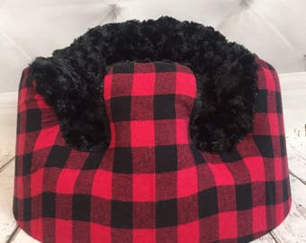 Buffalo Plaid Bumbo Cover